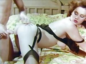 Hot ladies posing in vintage nylons