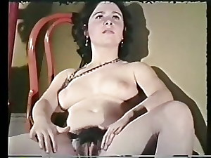 Retro wife with hairy pussy